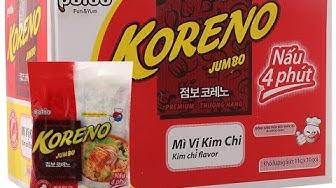 Mì Kim Chi Koreno Jumbo bịch 1kg (10 gói x 100g)