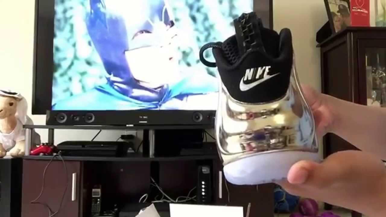 6548b136cc0 Heat Unboxing of Nike Air Foamposite One AS QS Chromeposite Mirror Foam  from Nike - YouTube