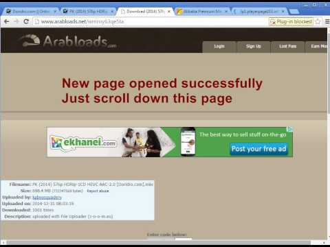 [Tutorial] How to Download from Doridro.com with Arabloads link [5th January, 2015]