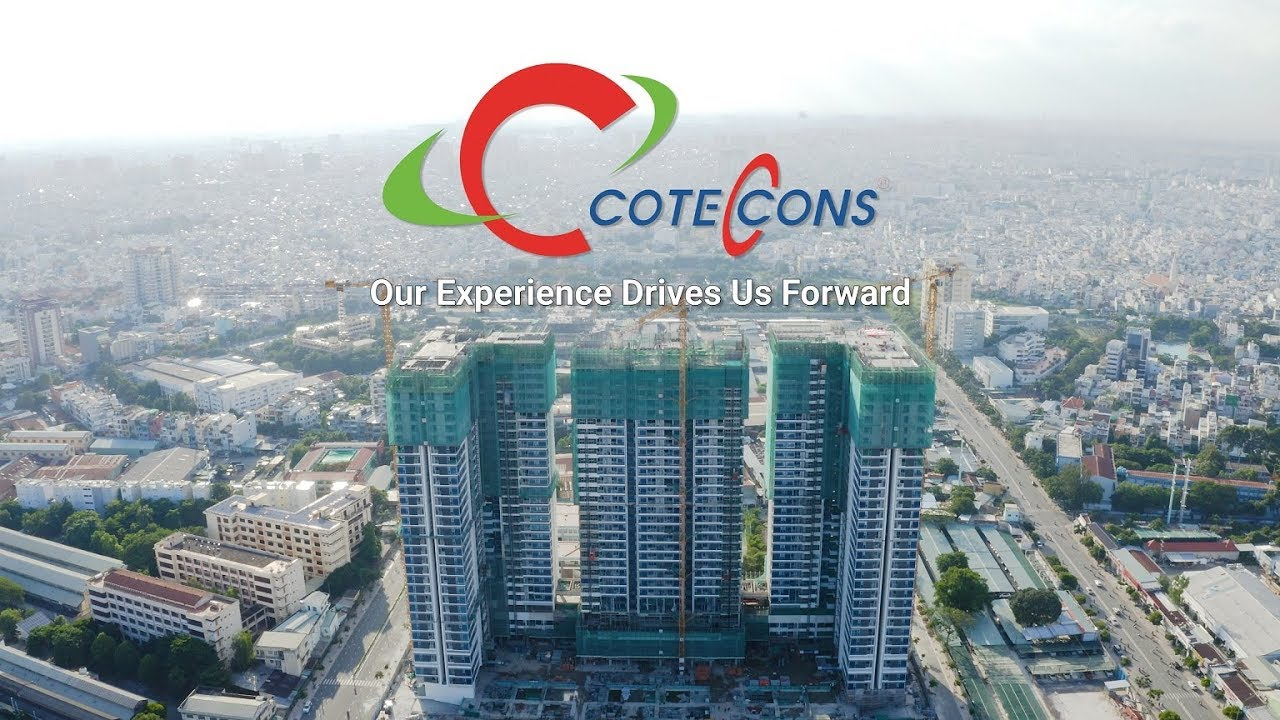 Coteccons cất nóc dự án Kingdom 101