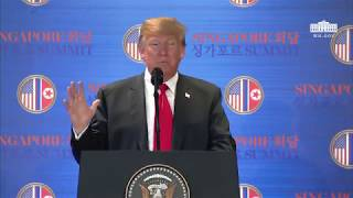 President Trump Participates in a Media Availability