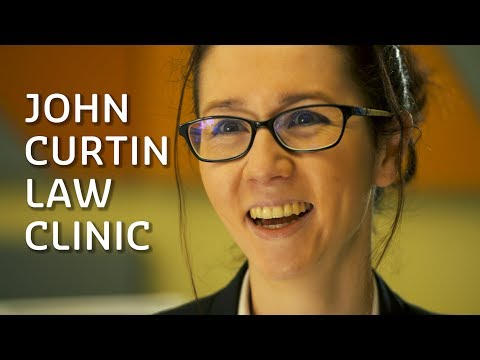 John Curtin Law Clinic: students in real-life legal cases