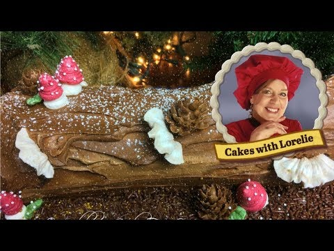 Bake and Decorate a Buche De Noel