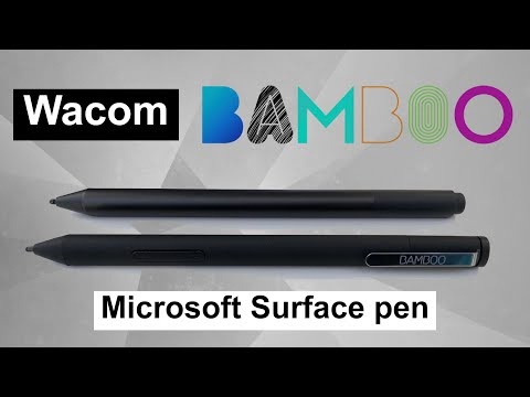 Better than the surface pro 6 pen? - Wacom Bamboo Ink - Review - YouTube