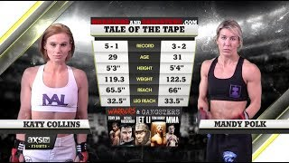 Fight of the Week: Mandy Polk and Katy Collins Let Their Fists Fly at RFA 46