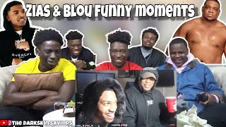Zias And Blou Funny Moment | REACTION |