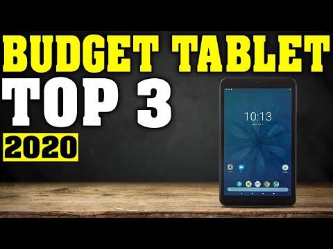 TOP 3: Best Budget Tablet 2020