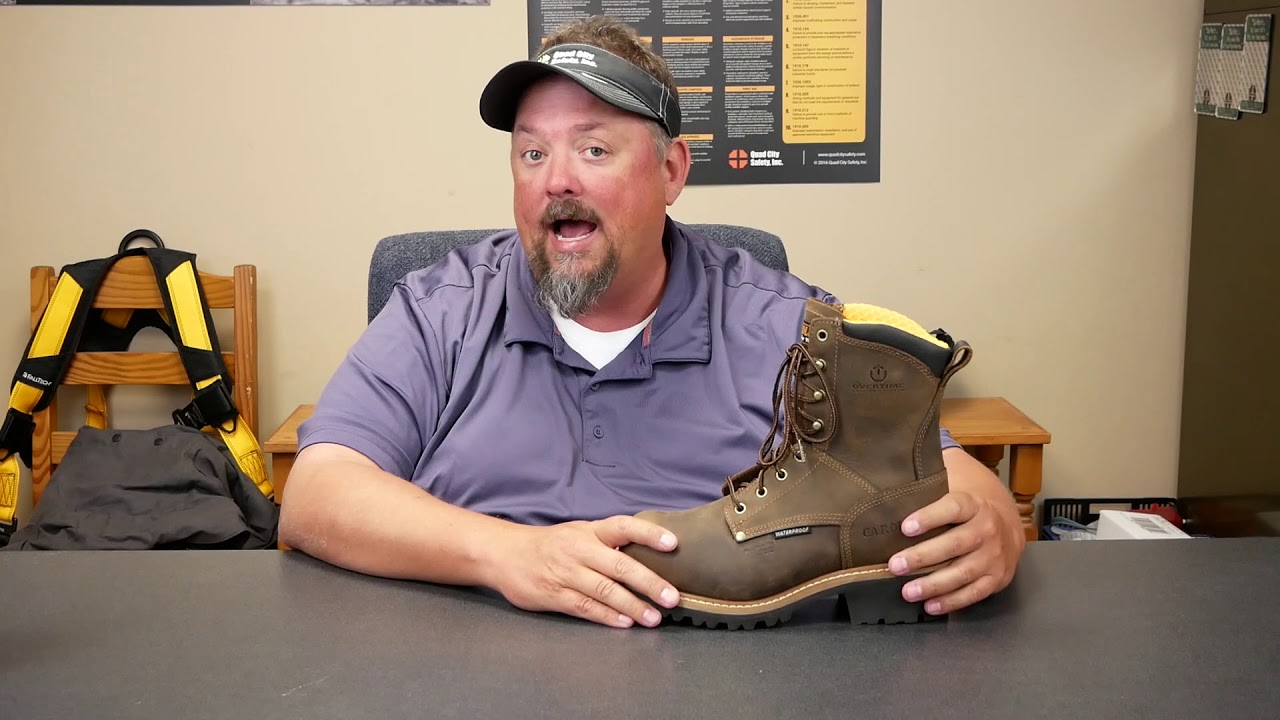 Defined Heel On Your Work Boots