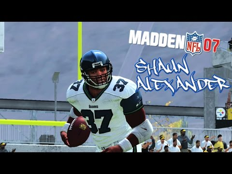 Madden NFL 07 - (PS2) -1080p HD - Seahawks at Steelers | Pack Opening | Shaun Alexander