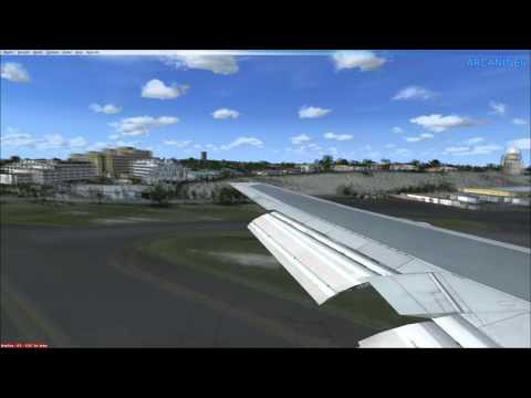 St Maarten Landing Montage