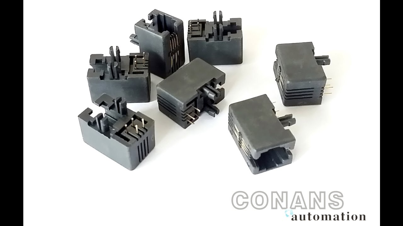 RJ11 RJ45 Connector Pin Insertion And Bending And