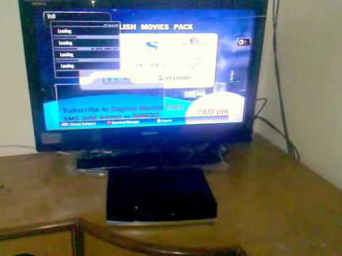 Tatasky+HD video on demand. How To set up.