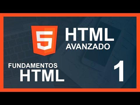 CURSO DE HTML AVANZADO 2020 | Html En Un Solo Vídeo