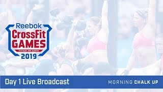 2019 CrossFit Games Day 1 Live