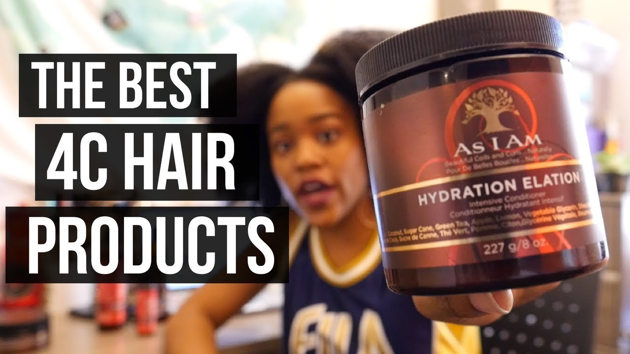 The Best Natural Hair Products For Type 4 Natural Hair As I Am