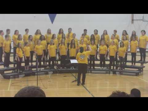 Selah middle school choir 2