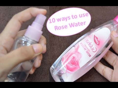 10 Ways To Use Rose Water | Benefits Of Rose Water | Beauty Express