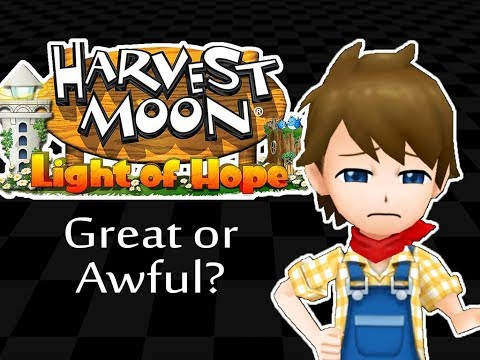 ☺Game Review: Harvest Moon: Light of Hope☻