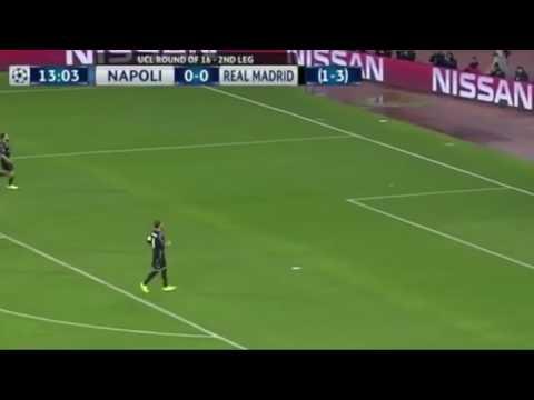 Real Madrid vs Napoli 2nd leg goals and highlights