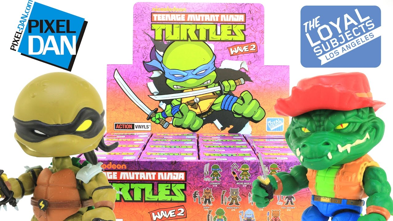 Loyal Subjects Teenage Mutant Ninja Turtles Wave 2 Action