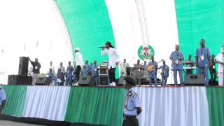 2015 NIGERIAN INAUGURATION Psquare Performance
