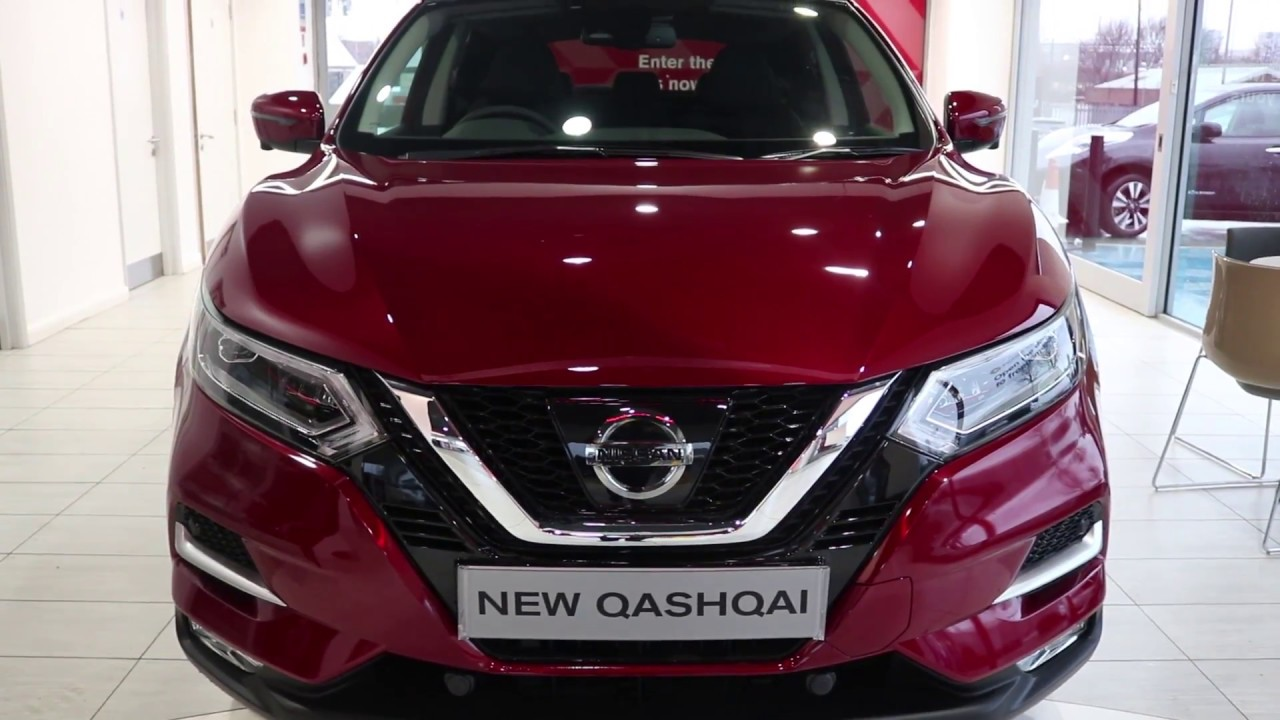 west way nissan nearly new qashqai tekna red auto youtube. Black Bedroom Furniture Sets. Home Design Ideas