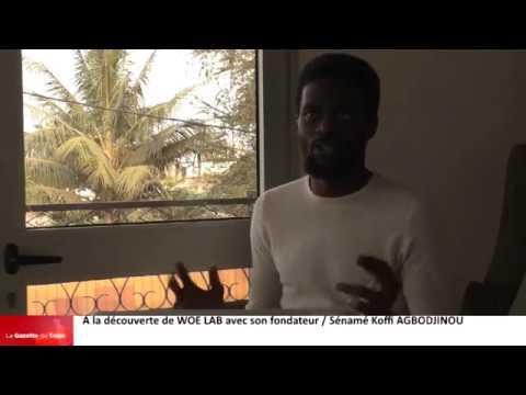 Sénamé Koffi AGBODJINOU / Fondateur de Woe Lab parle de la structure et l'évènement en vue