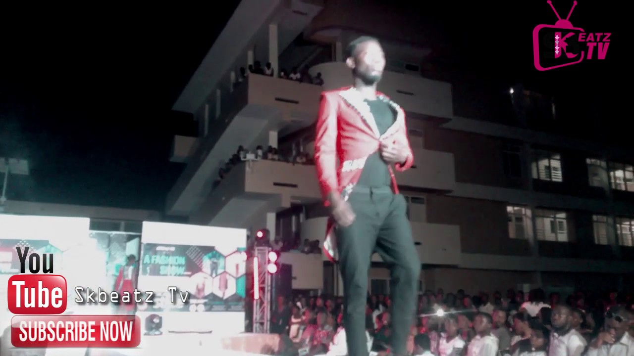 Accra Technical University Beautiful Fashion Show Behind The Scenes With Skbeatz Youtube