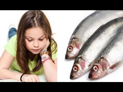 Children who eat plenty of oily fish may be better readers than their pe...