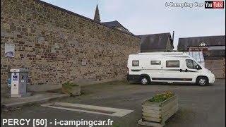 PERCY [50] - Aire Camping Car en Normandie
