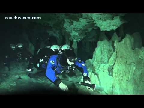 Cave diving Mexico