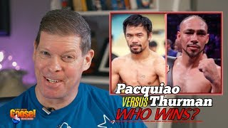 Pacquiao Will Convincingly Beat Thurman!