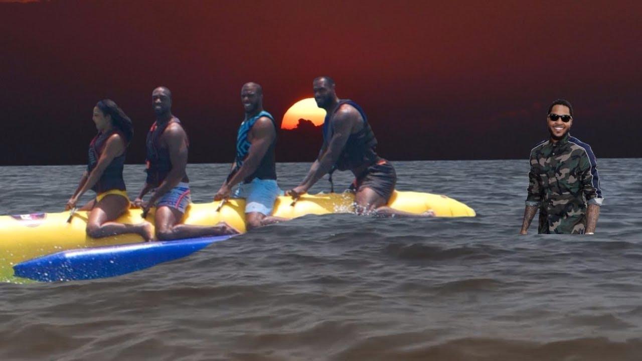 【影片】香蕉船兄弟真相大白!安東尼被大浪打走,詹皇跳下船一隻手拖他回來!