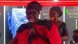 Kwadwo Wiafe's Mother Gives Emotional Tribute