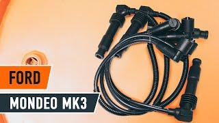 Ako vymeniť sviečkové káble na FORD MONDEO MK3 Sedan [NÁVOD AUTODOC]