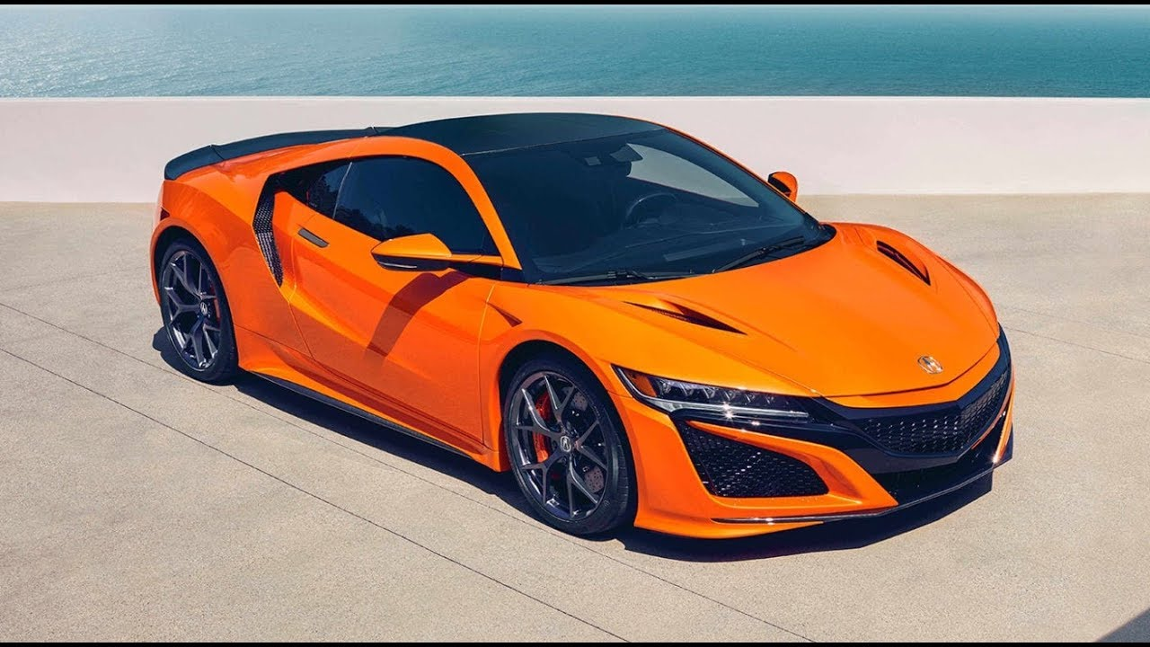 Acura NSX 2019 Color and Price - YouTube