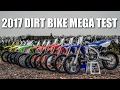 2017 DIRT BIKE MEGA TEST - Battle of the Bikes