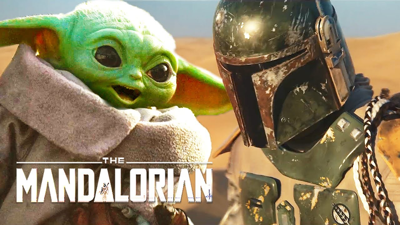 The Mandalorian Season 2 Boba Fett Teaser And Announcement Breakdown Star Wars Easter Eggs Youtube