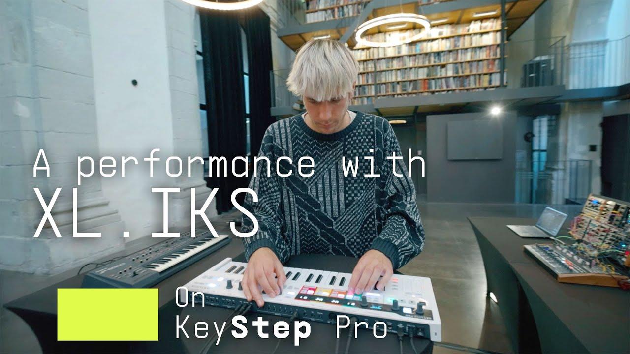 Download XL.IKS   KeyStep Pro Performance   ARTURIA