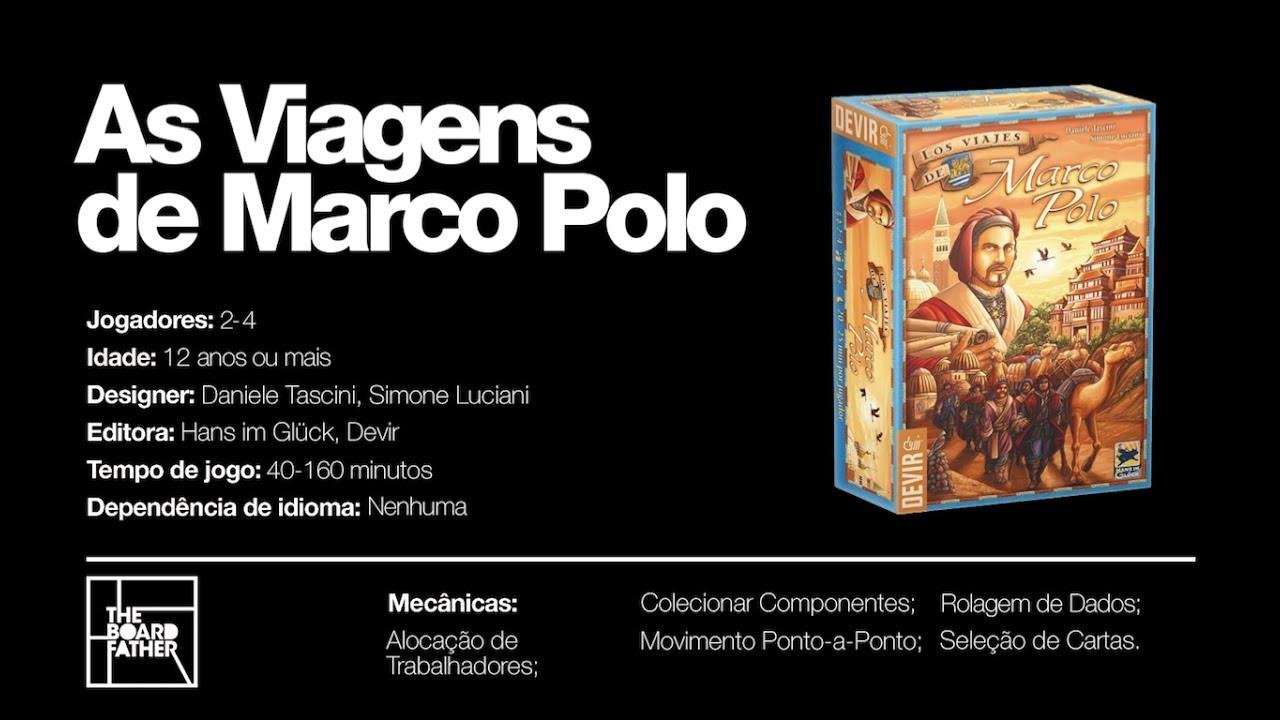 As Viagens de Marco Polo - Como Jogar [TBF]