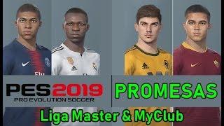 PROMESAS sub-21 de ligas europeas en PES 19 para fichar en MyClub y Liga Master. Parte 1 (Europa)
