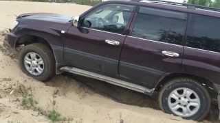 Проверка  блокировки дифференциала Toyota Land Cruiser 105, Check diff lock Toyota Land Cruiser 105