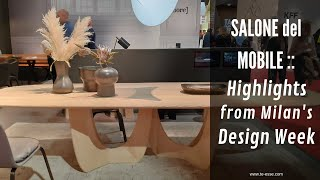 Salone del Mobile 2019 :: Highlights from Milan's Design Week