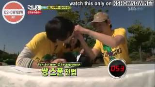 Song Joong Ki - Running man : Funny Moments Part 1