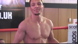 MARCUS MORRISON OFFICIAL OPEN WORKOUT WITH TRAINER JOE GALLAGHER / DANGER ZONE