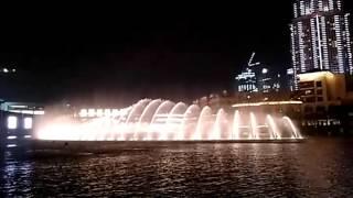 The World Famous Dubai Dancing Fountain