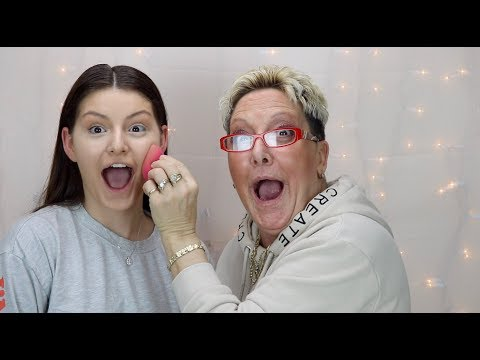MY CRAZY ITALIAN MOM DOES MY MAKEUP (FUNNIEST VIDEO EVER) | Shelby Triglia