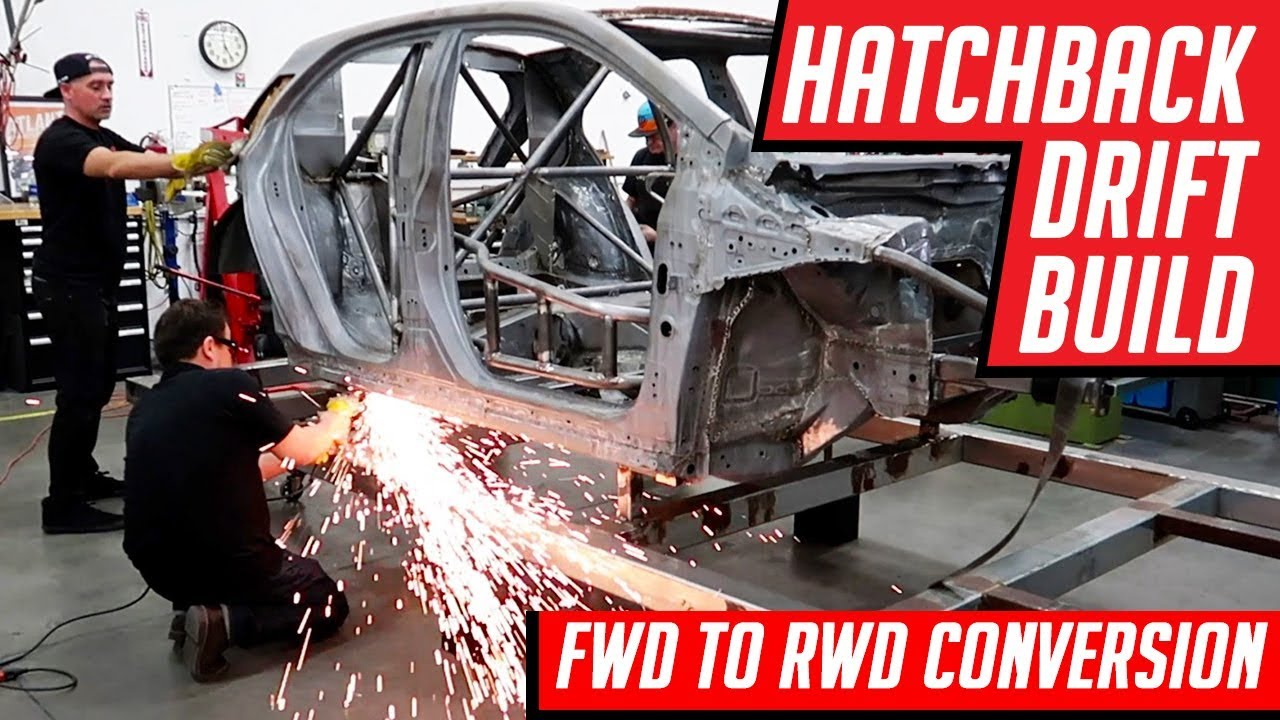 how to make a fwd car rwd