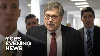 Democratic Senators Demand Attorney General William Barr's Resignation