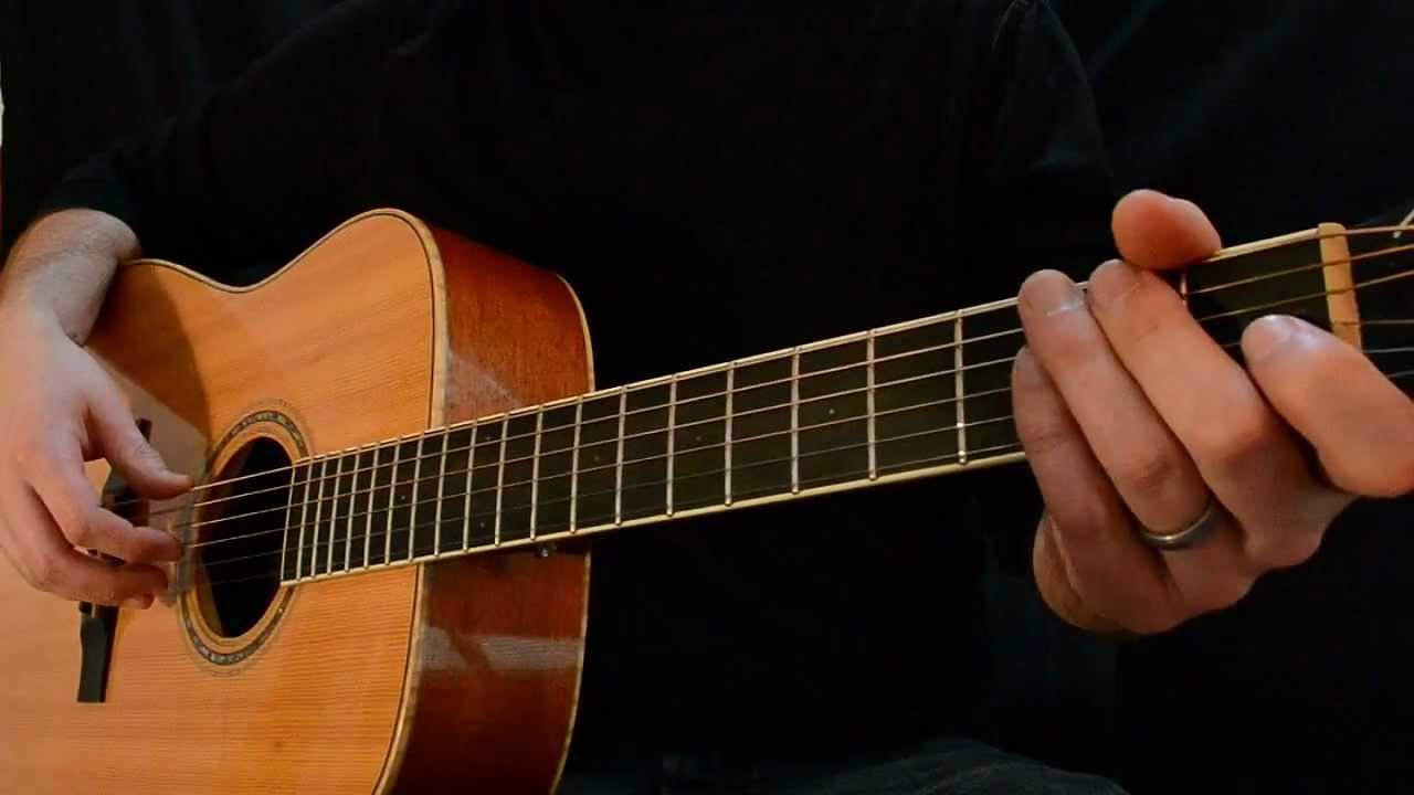 Another Easy Acoustic Blues Lick In E Youtube